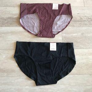 NWT Bundle of 2 Auden Hipster Panties